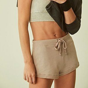 Free People Where The Wind Blows Solid Shorts